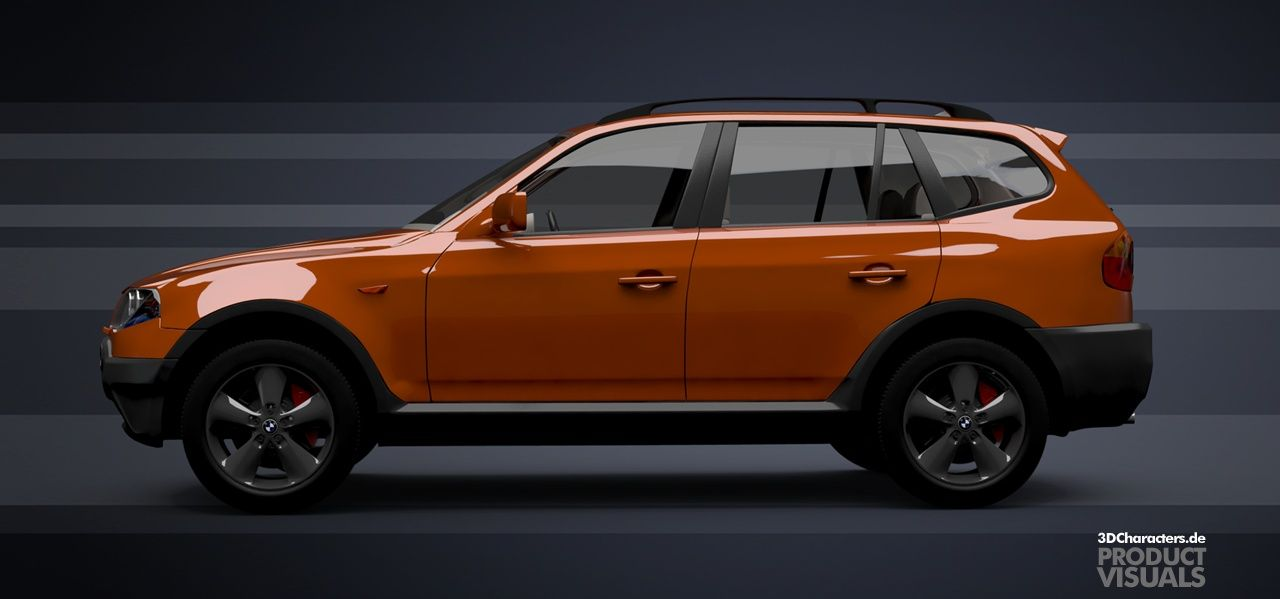 BMW SUV - 3D Product visual