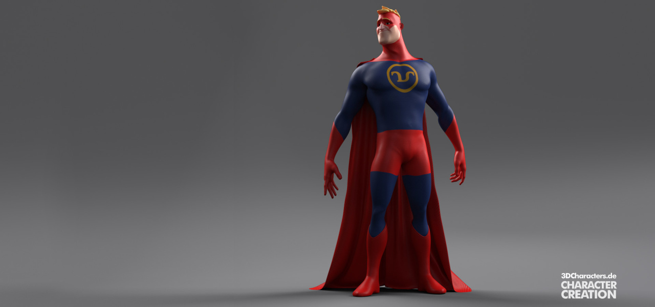 Superhero-3d-Illustration