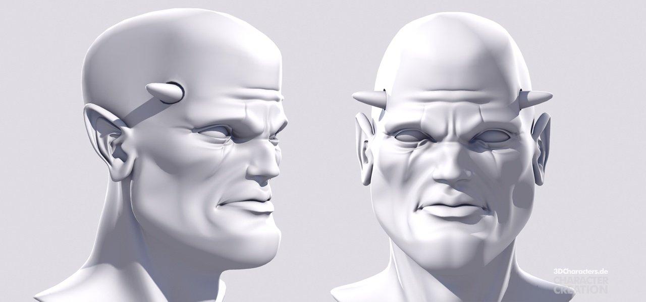 Devil - 3d modeling