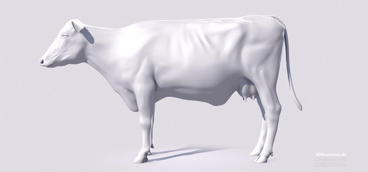 SUTAS Cow - 3D Modeling