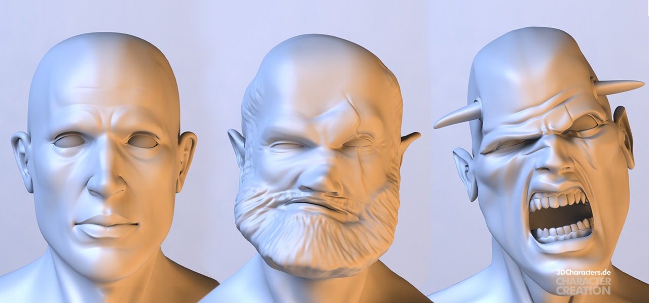 Some guys - 3d modeling