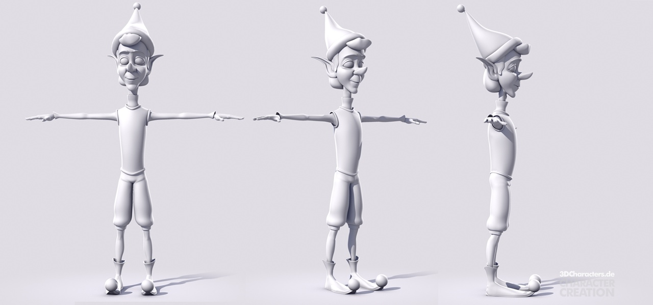 Christmas - We can dance - 3d modeling