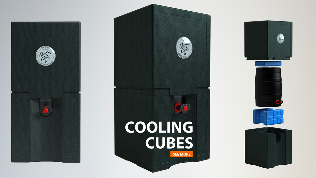COOLING CUBES | 3D-Visual