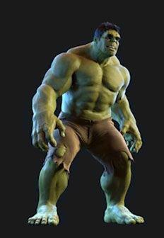 Creature Hulk - 3D Animator
