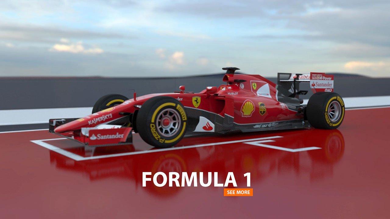 FORMULA 1 | 3d-Animation