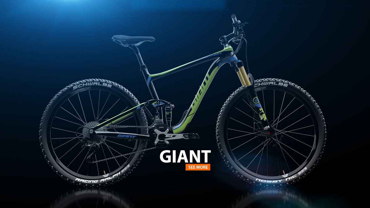 GIANT Bicylce | Product Animation