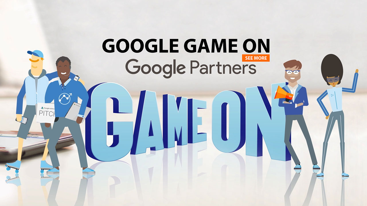 GOOGLE Game On | 2D-Animation