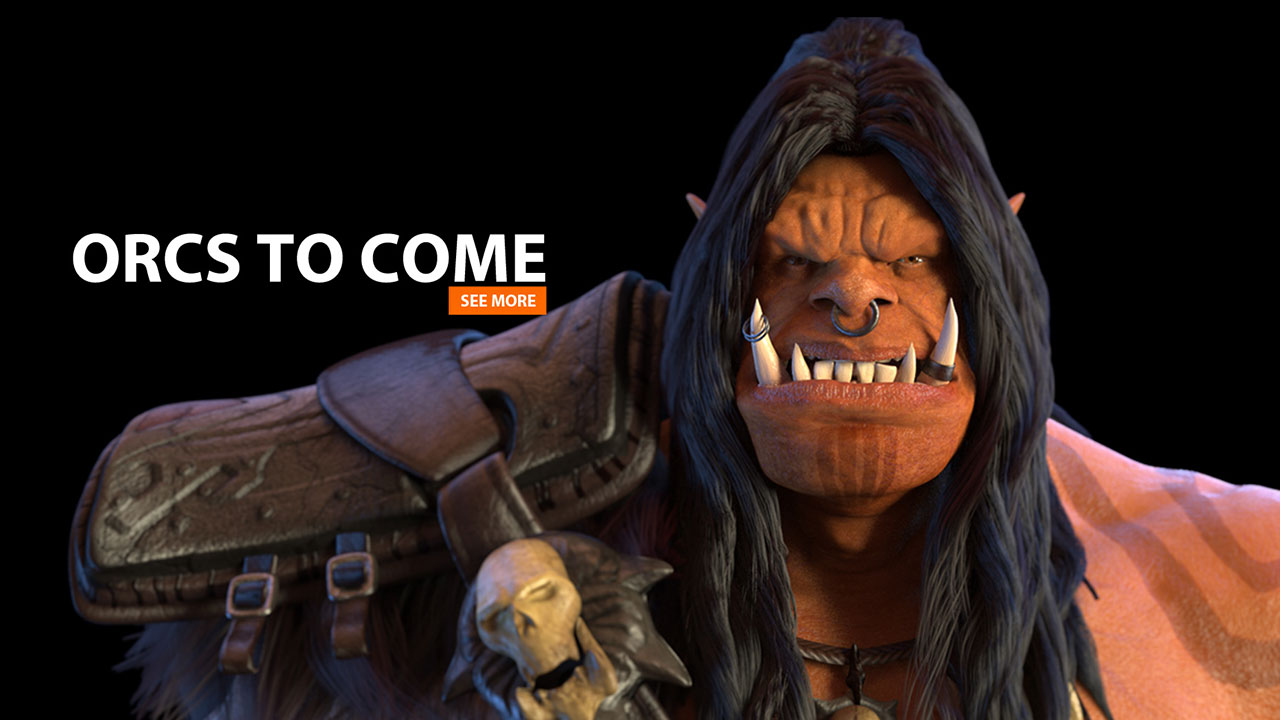 ORCS TO COME | 3d-Animation