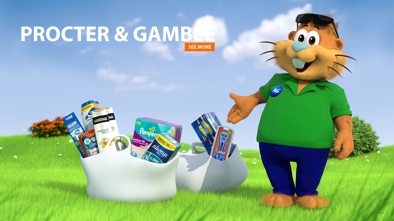 P&G Hamsterdays | 3D Animation