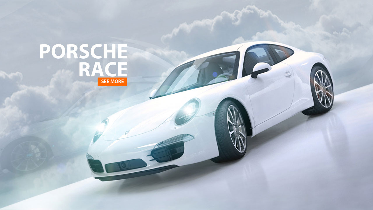 PORSCHE 911 Race | 3d-Animation