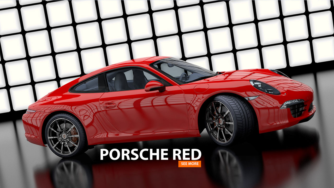 PORSCHE 911 Red | 3d-Animation
