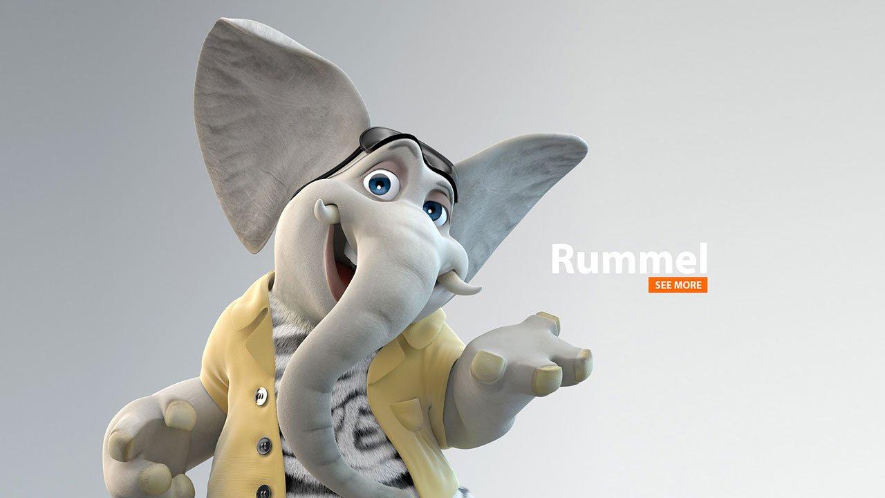 Rummel | 3D-Animation
