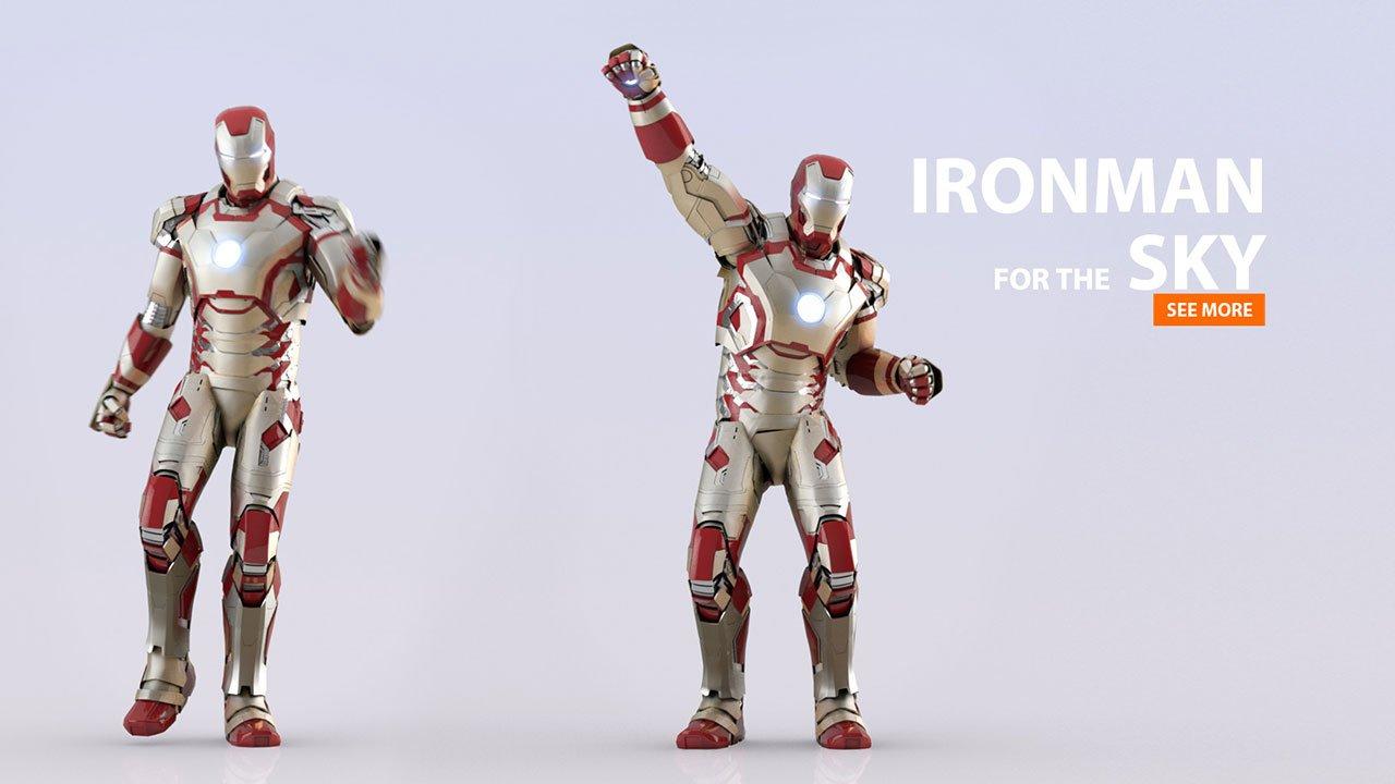 SKY Ironman | CGI-Animation