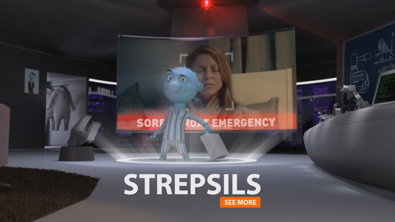 STREPLSILS | 3D-Character-Animation