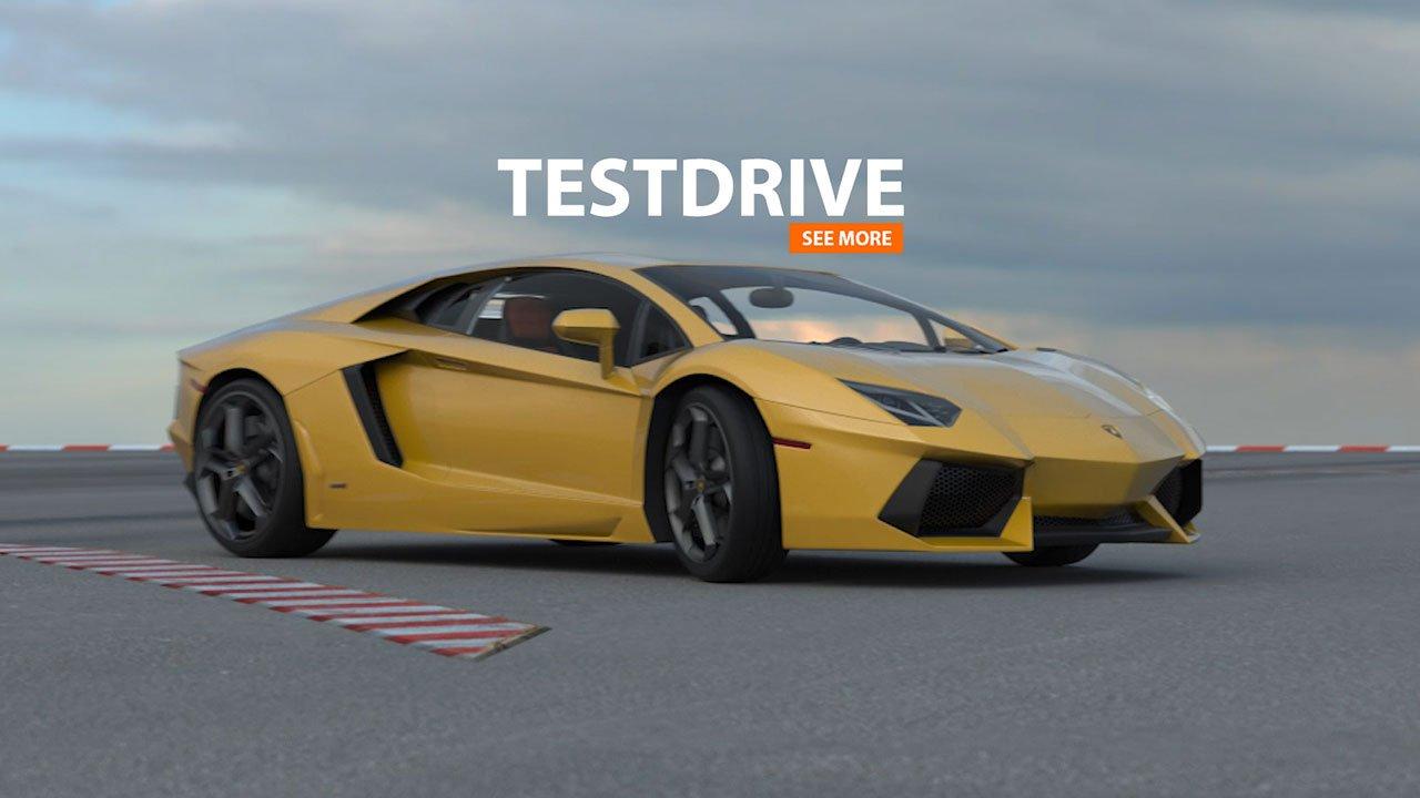 TESTDRIVE Lamborghini | 3D-Animation