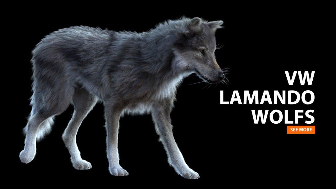 VW Lamando | 3D-Creature-Animator