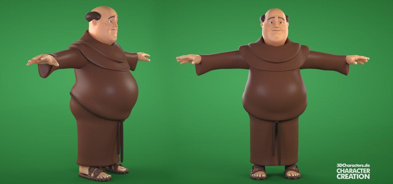 3d monk